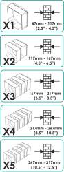 Extender chart box