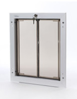 large door mount plexidor