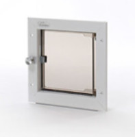 small door mount plexidor